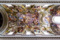 Ceiling Painting by Andrea Pozo